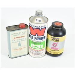 Smokeless Propellant