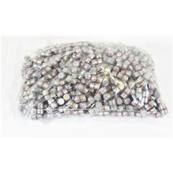 600 Pieces 38cal Wad Cutter Cast Lubed Bullets