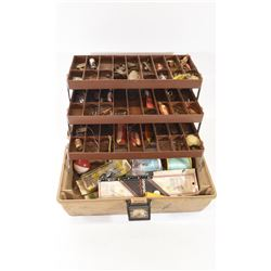 Tackle Box with 50 Pieces Assorted Tackle