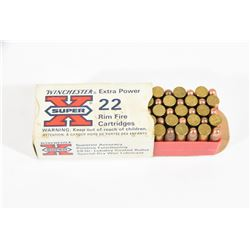 50 Rnds. Winchester SuperX 22 Long RF Ammunition