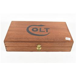 Colt 1951 Wooden Navy Presentation Box