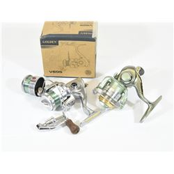 Golden and Shakespeare Fishing Reels