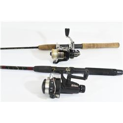 Mitchel and Abu Garcia Fishing Rods