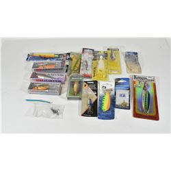 Box Lot Divers and Spoon Lures