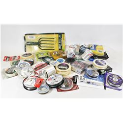 """Box Lot Fishing Line and 10"""" Spear Head"""