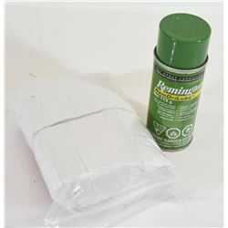 Remington DriLube and Allen Cleaning Patches