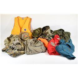 Box Lot Hunting and Fishing Clothing