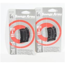 Savage 17Mach 2/22LR Magazines