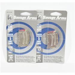 Savage 17Mach 2/22LR Magazines