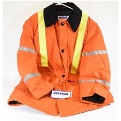 Outdoor Outfitters Safety Orange Jacket