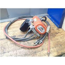 CM Shopair 300lbs Pneumatic Hoist, S/N: SS7956TF