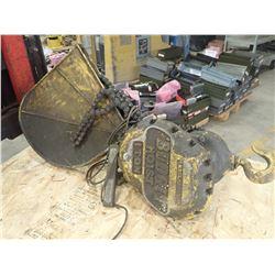 Budgit 1 Ton Electric Hoist, S/N: M501
