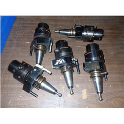 (5) System 3R Tool Holders