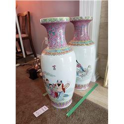Chinese vase x 2