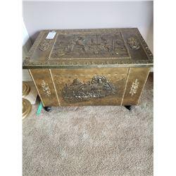 Metal woodbox
