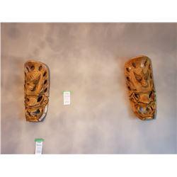 Wall masks x 2