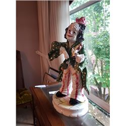 Clown statue