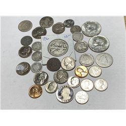 32 pcs. US and Canada Coin Collection