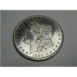1884- o High Grade BU Morgan Dollar
