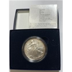 2007 W US Silver Eagle in OMB
