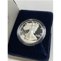 2004 US Silver Eagle Proof in Velvet Box