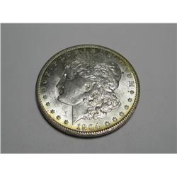 1904 -O Toned Rim BU High Grade Morgan Dollar