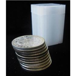 Lot of (20) Morgan Silver Dollars in Tube