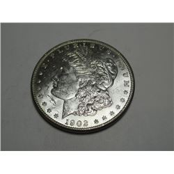 1902 O CH BU PL Surfaces Morgan Dollar