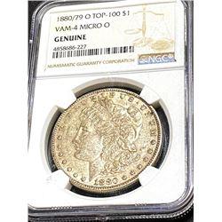 Top 100 VAM 4 Micro O 1880/79 Morgan $1