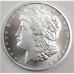 1 oz. Morgan Design Silver Round