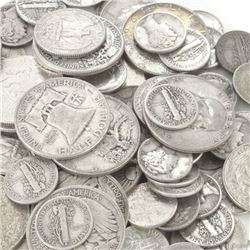 $10 face Value Mixed -90% Silver Coins