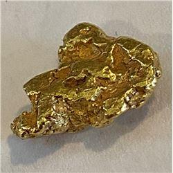 2.55 gram Natural Alluvial Gold Nugget