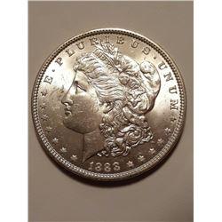 1888 P Better Date in Grade BU Morgan Dollar