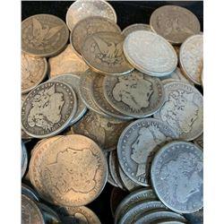 Lot of (20) Morgan Silver Dollars Mixed Random