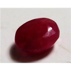3 ct. Natural Ruby Red Corrundum Gemstone