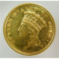 1854 $3 Gold Princess