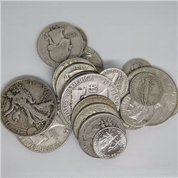 $4 Face Value - 90% Silver Random Mix