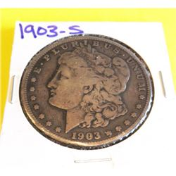 1903 S Better Date Morgan Silver Dollar