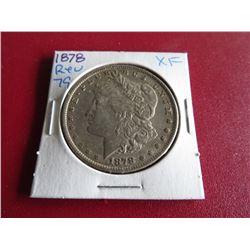 1878 Rev. 79 XF Grade Morgan Dollar