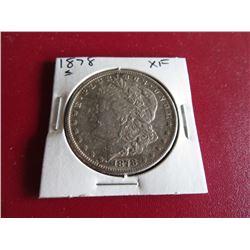 1878 S XF Grade Morgan Silver Dollar