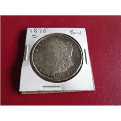 1878 S BU Original Bag Find Morgan Dollar