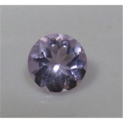 2.5 ct. Natural Amethyst Gemstone Rd. Brilliant