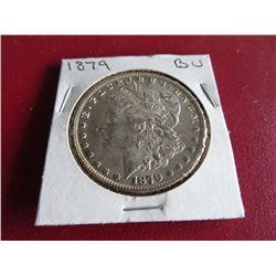1879 P BU Grade Morgan Dollar - Better Date