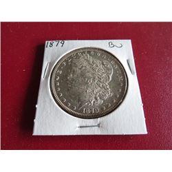 1879 BU Grade Morgan Silver Dollar