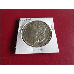 1879 O Better Date AU Grade Morgan Dollar