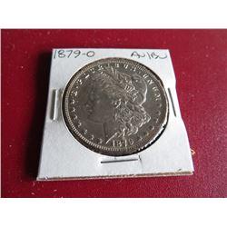 1879 O AU BU Grade Morgan Dollar