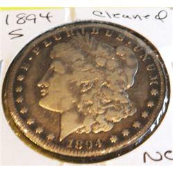1894 s Better Date Morgan Dollar Cleaned