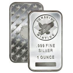 1oz Sunshine Mint Silver Bar