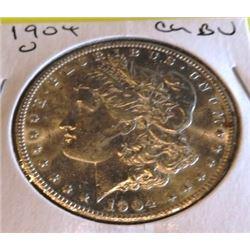 1904 O CH BU Morgan Silver Dollar
