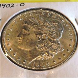 1902 O BU Grade Crisp Morgan Dollar